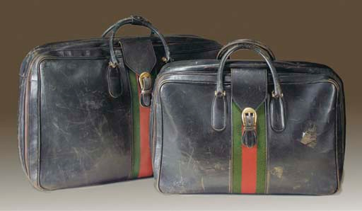 Gucci Leather Suitcase Bond Lifestyle