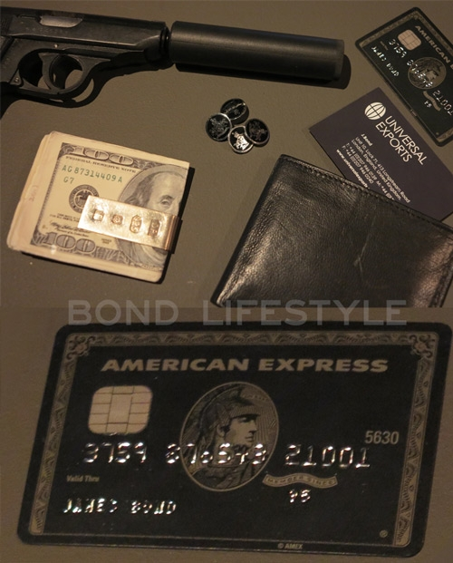 American express centurion card bond lifestyle james bonds american express centurion black card on display at the bond in motion exhibition in the london film museum colourmoves Images