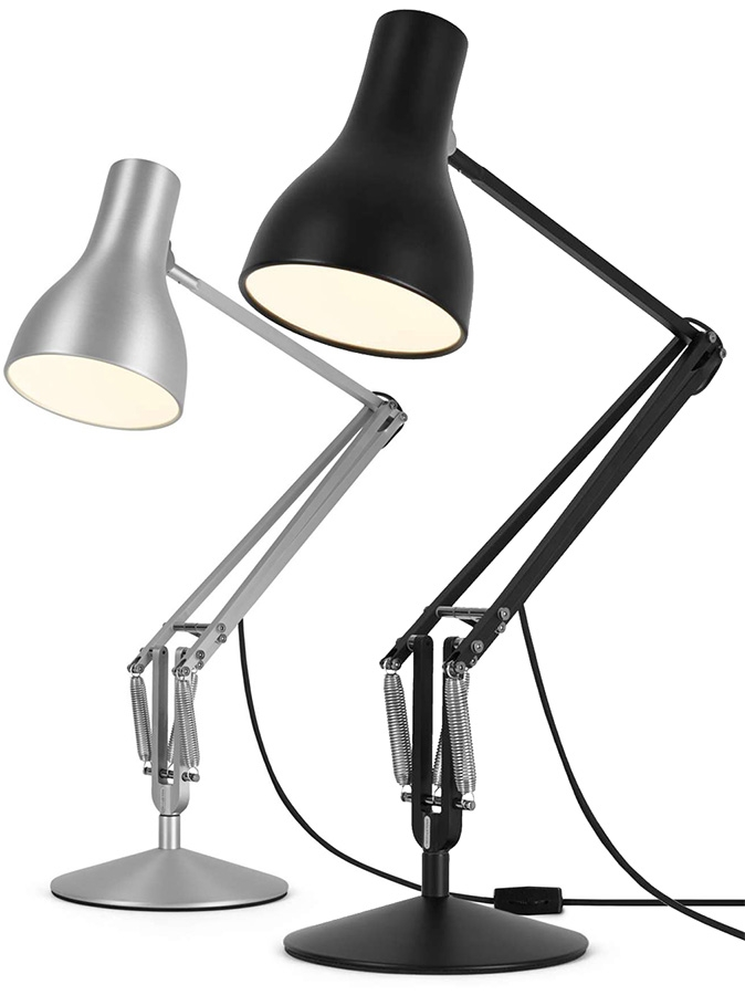 anglepoise type 75 desk lamp bond lifestyle. Black Bedroom Furniture Sets. Home Design Ideas