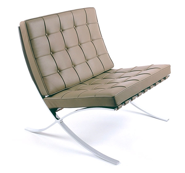 Knoll Barcelona chair Spinneybeck leather and Chrome frame  sc 1 st  Bond Lifestyle : barcelona chair leather - Cheerinfomania.Com