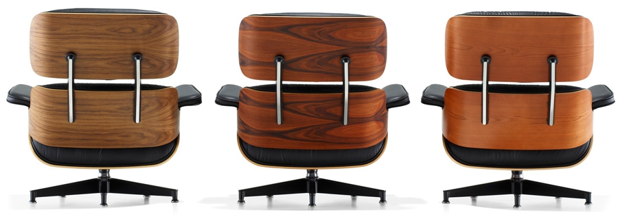 The Eames Loung Chair And Ottoman Are Available In Different Types Of Wood  And Dozens Of Leather Colors