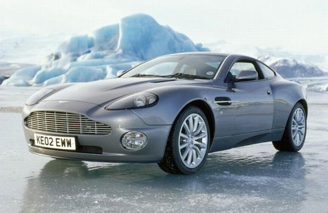 Aston Martin Vanquish Bond Lifestyle