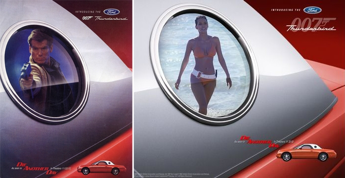c36468514845e Die Another Day related promotional material for the 007 Thunderbird