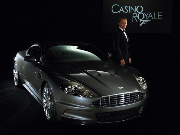 What car did james bond drive in casino royale pickens west virginia poker run