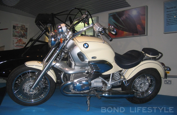 A BMW Used In The Movie On Display National Motor Museum At Beaulieu