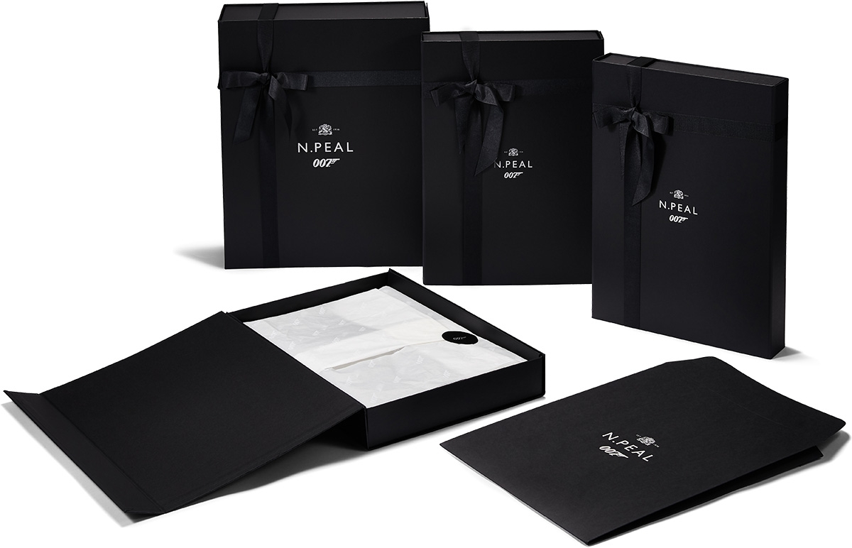 NPeal 007 collection packaging