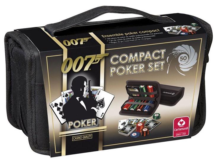 cartamundi james bond 50th anniversary limited edition luxury poker set
