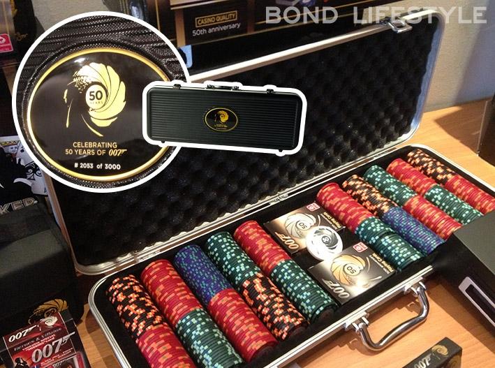 Poker chips james bond