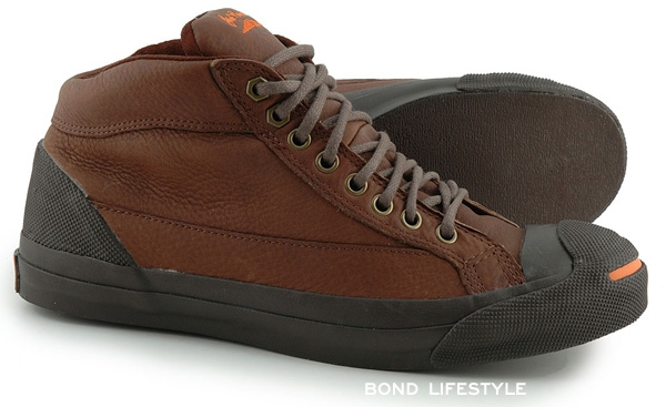 82c503ab3711 Converse Jack Purcell OTR ankle boot in Chocolate and Paprika colors