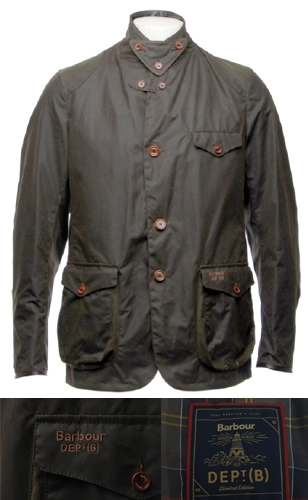 barbour x to ki to beacon heritage sports jacket bond