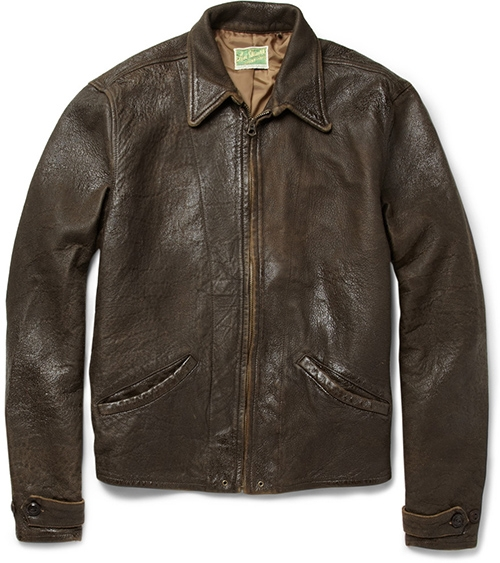 Levis Vintage Clothing 1930s Leather Jacket Bond Lifestyle
