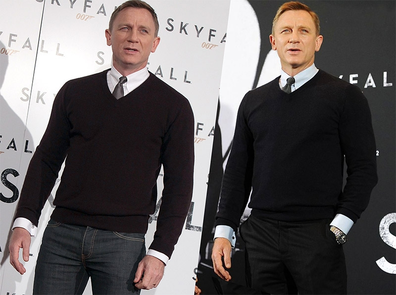 John Smedley Bobby V Neck Pullover Bond Lifestyle