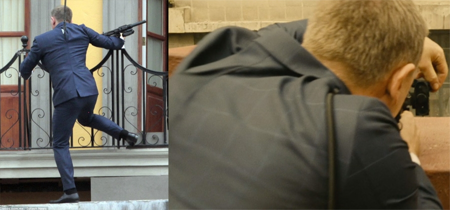 Tom Ford O Connor Windowpane Suit Bond Lifestyle