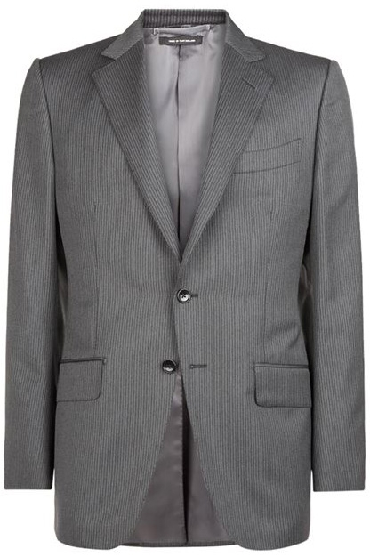 Tom Ford O'Connor Grey Pinstripe Suit | Bond Lifestyle