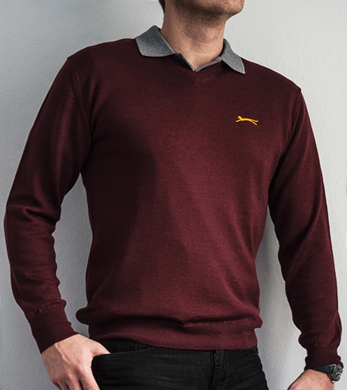 Slazenger Jacket Sweatshirt Mens Sweater Jumper Sport Full Zipped 4161