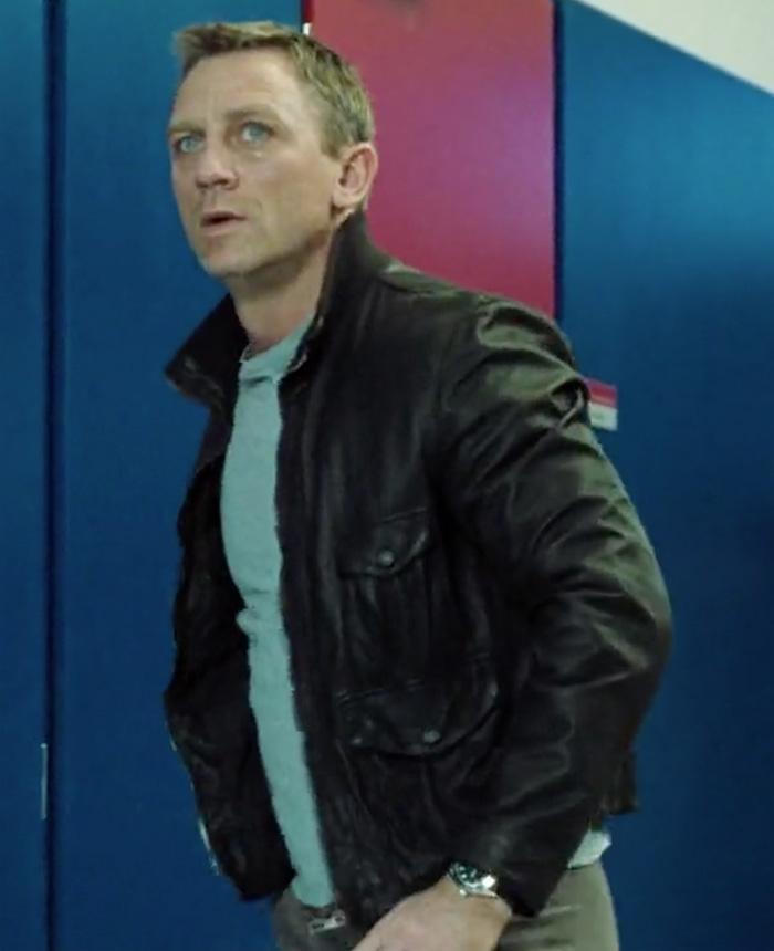 bond leather jacket casino royale