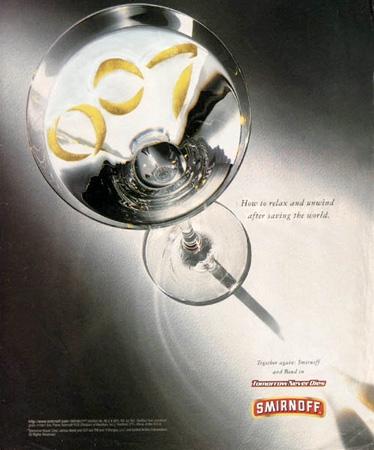 Smirnoff Vodka | Bond Lifestyle