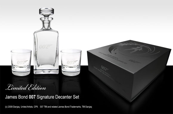 ... Entertainment Franchise, Property Of Danjaq LLC And EON Productions,  And Created A New Signature Range Of High End Barware, Glassware And  Cocktail Sets, ...