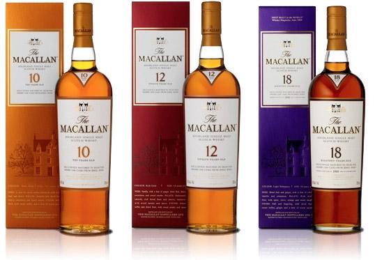 The Macallan 10-, 12- ... Javier Bardem