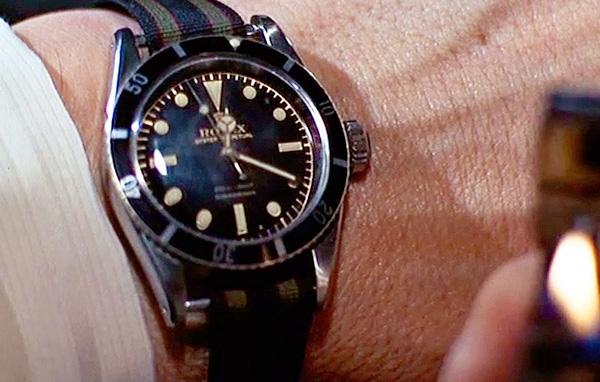 James Bond, les montres Ga001-rolex-sean-connery