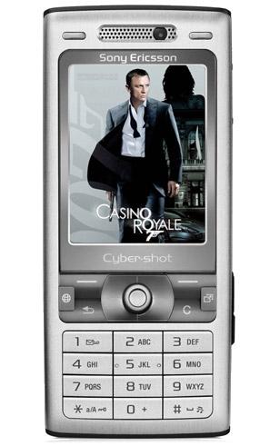 Sony Ericsson K800i Bond Lifestyle