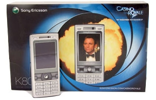 Sony Ericsson K800i | Bond Lifestyle