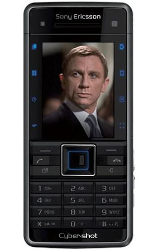 James bond 007 quantum of solace sony ericsson phone c902 2008 m&b.