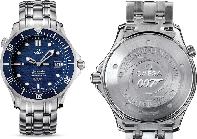 Omega seamaster professional 007 limited edition planet ocean.