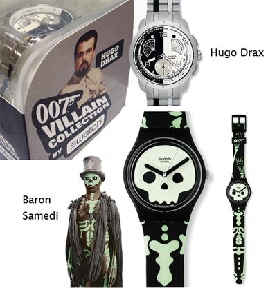 orologio swatch 007