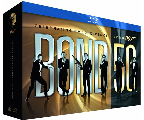 Bond 50: all 22 James Bond Films on Blu-Ray | Bond Lifestyle