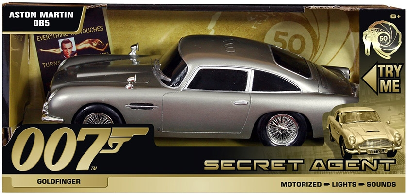 Aston Martin DB5 Goldfinger   Secret Agent Edition (these Versions Can  Drive But Do Not Have A Remote Control Function)
