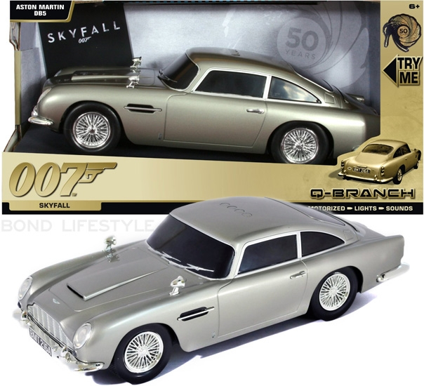 Beautiful Toy State Aston Martin DB5 SkyFall (Q Branch Edition) With Sound And Light  Effects (but Without Remote Control)