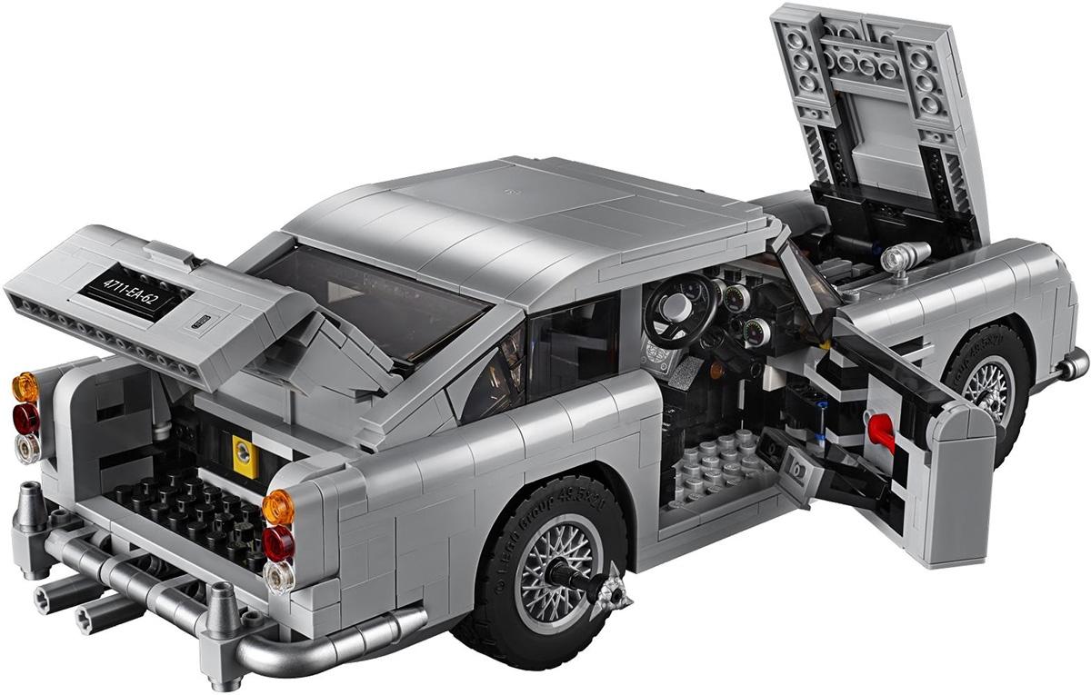 Lego Creator Expert 10262 James Bond 007 Aston Martin Db5 Bond Lifestyle