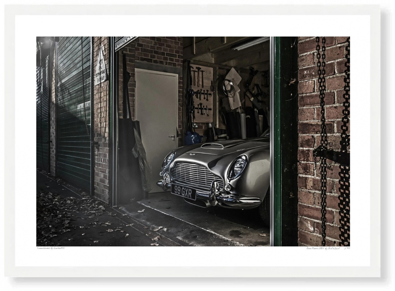 Aston Marton DB5 garage limited100
