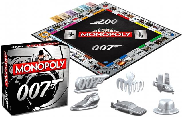 Monopoly James Bond 007 SPECTRE edition