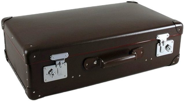 Globe Trotter Original Brown Suitcase Bond Lifestyle