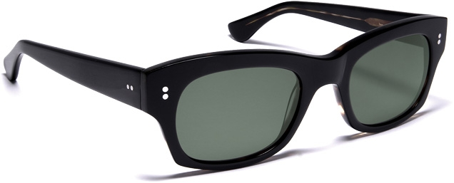 Curry & Paxton sunglasses, based on the frames worn by Sean Connery in Thunderball