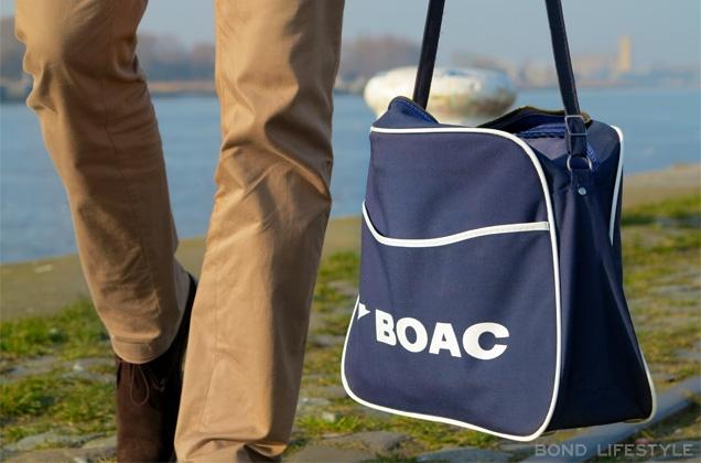 Navy BOAC flight bag