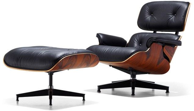 Eames Lounge Stoel.Eames Lounge Chair And Ottoman Bond Lifestyle