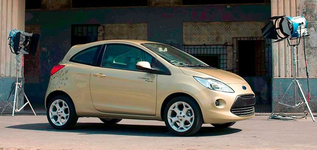 The Ford Ka Quantum of Solace edition