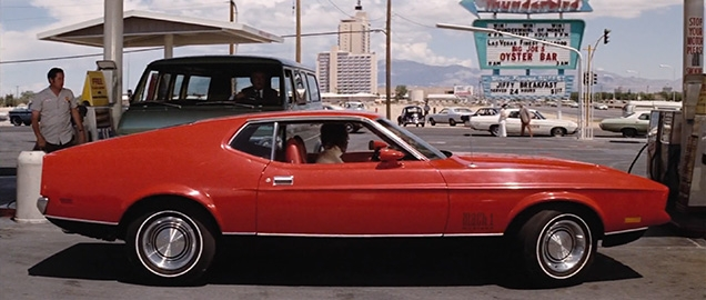 Ford Mustang Mach 1 in the movie Diamonds Are Forever