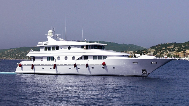 Northern Cross yacht, which featured as Manticore in the James Bond film GoldenEye