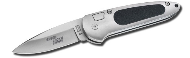 Böker Speed Lock II automatic knife as used by Jinx in Die Another Day