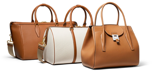 Michael Kors MKC x 007 Capsule Collection: Bond Carryall, Bond Duffel and Bond Bancroft Satchel