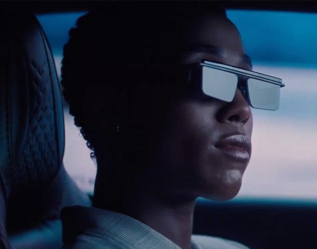 Nomi (Lashana Lynch) wearing the Adam Selman x Le Specs The Flex sunglasses