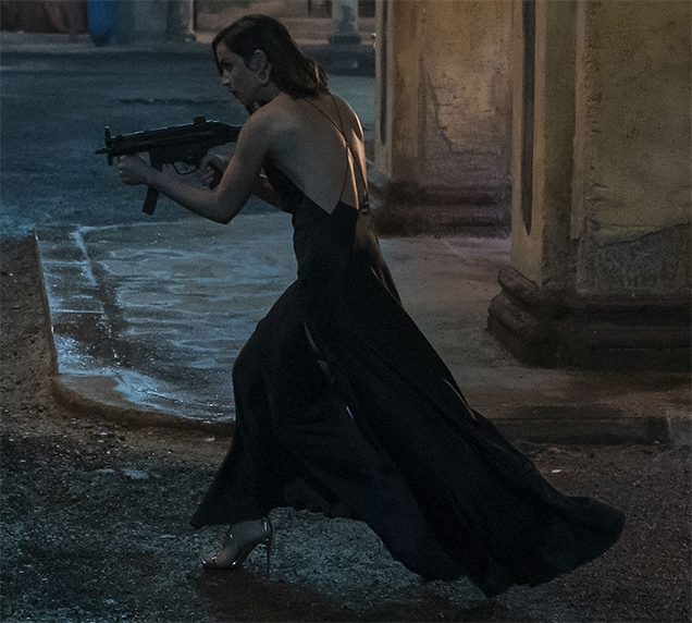 Paloma (Ana de Armas) in action in No Time To Die
