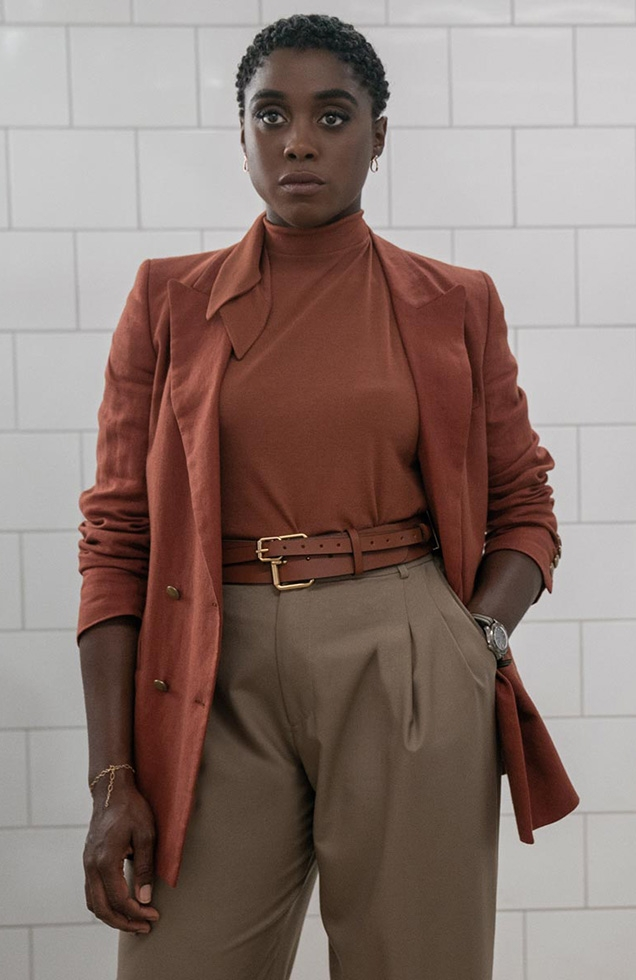 Lashana Lynch as Nomi in No Time To Die