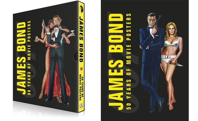 James Bond: 50 Years of Movie Posters. Packaged in a beautiful slipcase with two art prints.