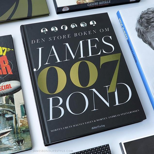 Den store boken om James Bond (The Big Book on James Bond), by Morten Steingrimsen and Morten Cruys Magnus Sagen