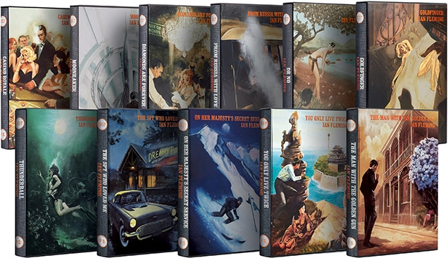 The Folio Society Ian Fleming James Bond series